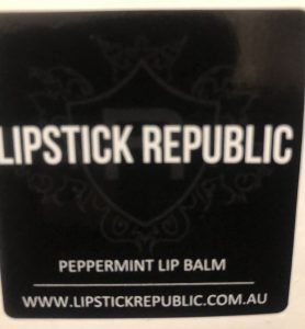 Lipstick republic label graphics